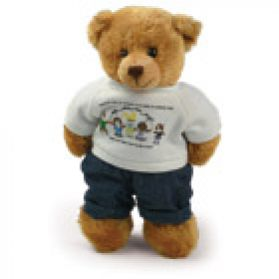 Prevent Blindness T-Shirt Bear