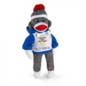 Light The Night Walk Hoodie Sock Monkey