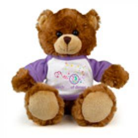 March of Dimes 75th Anniversary Bear - 8""