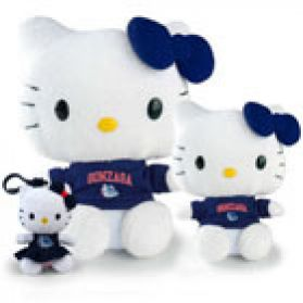 Gonzaga Hello Kitty
