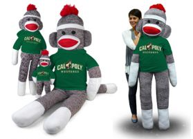 Cal Poly Sock Monkey