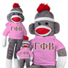 Gamma Phi Beta Sock Monkey