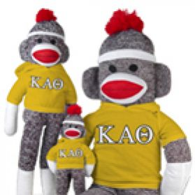 Kappa Alpha Theta Sock Monkey