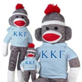 Kappa Kappa Gamma Sock Monkey