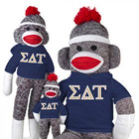 Sigma Delta Tau Sock Monkey