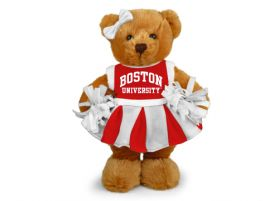 Boston University Cheerleader Bear 8
