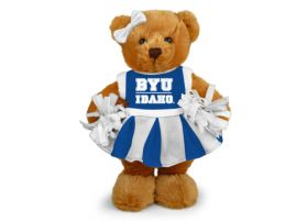 BYU Idaho Cheerleader Bear 8in
