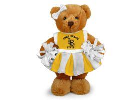 Cal State Long Beach Cheerleader Bear