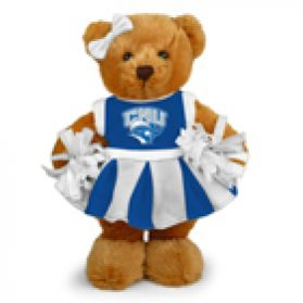 Christopher Newport Cheerleader Bear