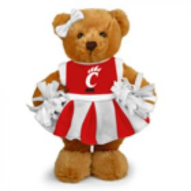 Cincinnati Cheerleader Bear 8in