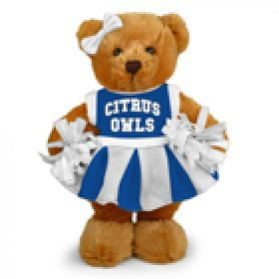 Citrus College Cheerleader Bear