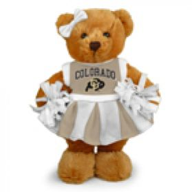 Colorado Cheerleader Bear 8in