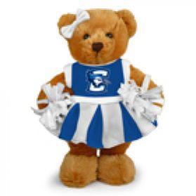 Creighton Cheerleader Bear 8in