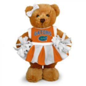 Florida Cheerleader Bear 8in