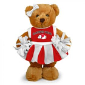 Gardner Webb Cheerleader Bear 8in