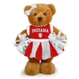 Indiana Cheerleader Bear 8in