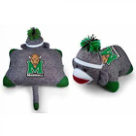 Marshall Sock Monkey Pillow