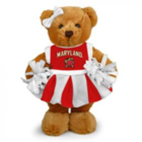 Maryland Cheerleader Bear 8in