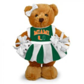 Miami Cheerleader Bear 8in