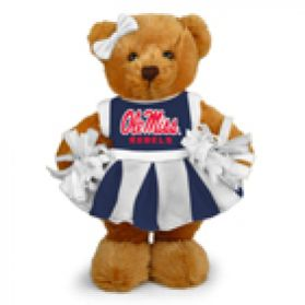 Mississippi Cheerleader Bear 8in