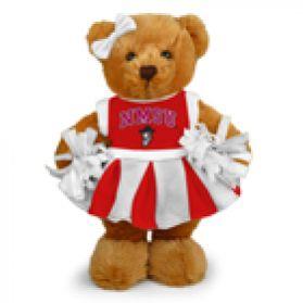 New Mexico Cheerleader Bear 8in