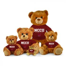 North Carolina Central Jersey Bear