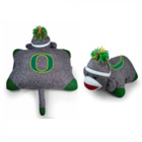 Oregon Sock Monkey Pillow 24in