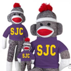 San Juan College Sock Monkey