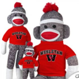 Wesleyan Sock Monkey