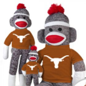 Texas Sock Monkey
