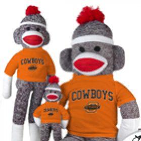Oklahoma State Sock Monkey