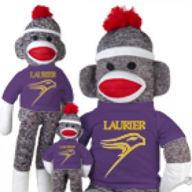 Wilfrid Laurier Sock Monkey