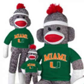 Miami Sock Monkey