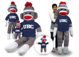 British Columbia Sock Monkey