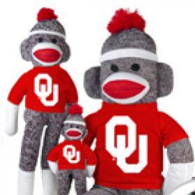 Oklahoma Sock Monkey