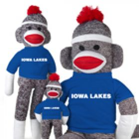 Iowa Lakes Sock Monkey