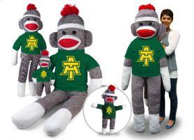 Arkansas Tech Sock Monkey