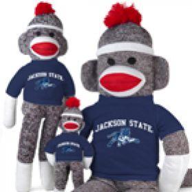 Jackson State Sock Monkey