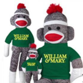 William & Mary Sock Monkey