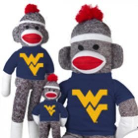 West Virginia Sock Monkey
