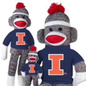 Illinois Sock Monkey
