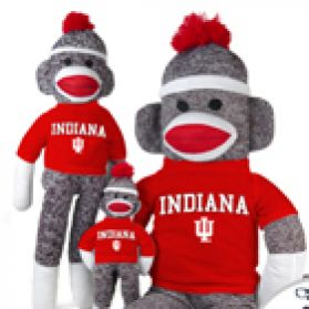 Indiana Sock Monkey