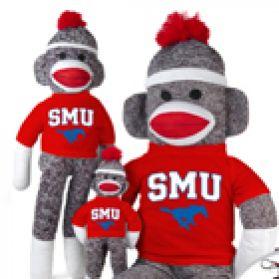SMU Sock Monkey