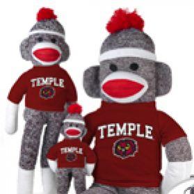 Temple Sock Monkey