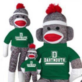 Dartmouth Sock Monkey