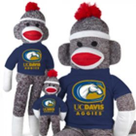 UC Davis Sock Monkey