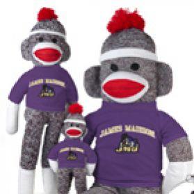 James Madison Sock Monkey