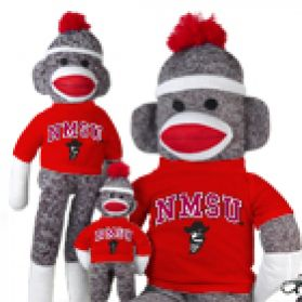 New Mexico State Sock Monkey