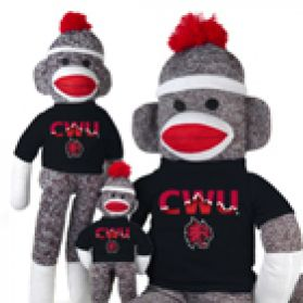 Central Washington Sock Monkey