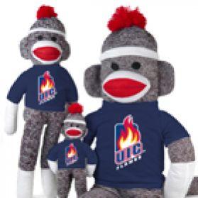 Illinois Chicago Sock Monkey